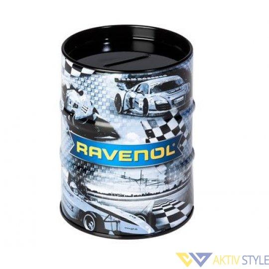 Фирменная копилка в виде бочки с логотипом RAVENOL®