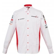Мужская рубашка c длинным рукавом RAVENOL® COLLECTION с логотипом C.ABT Motorsport