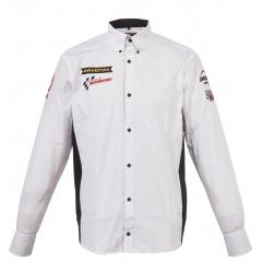 Мужская рубашка c длинным рукавом RAVENOL® COLLECTION с логотипом Senkyr Motorsport