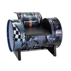 Фирменный выставочный стул с подлокотниками RAVENOL®