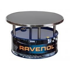 Фирменный выставочный журнальный столик с логотипом RAVENOL®