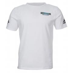 Мужская футболка ADIDAS® SAILING с логотипом RAVENOL® Motorsport Ralf Schumacher